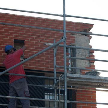 Obras de Reparación de Patologías en Fachada del Centro de Salud de San Juan