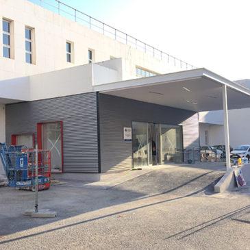 Continúan las obras en el Centro de Salud de Altabix