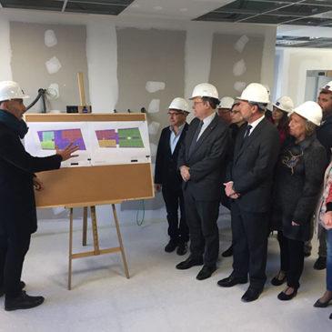 Visita del President de la Generalitat al Centro de Salud de Rabaloche