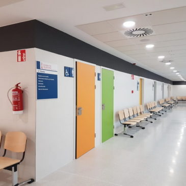 Finalizan las obras en el Centro de Salud de Rabaloche